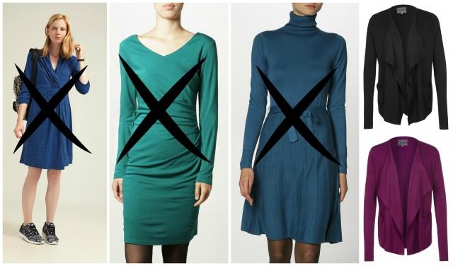 Tre klänningar i retur